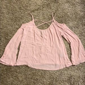 Dainty strap top with trim detail